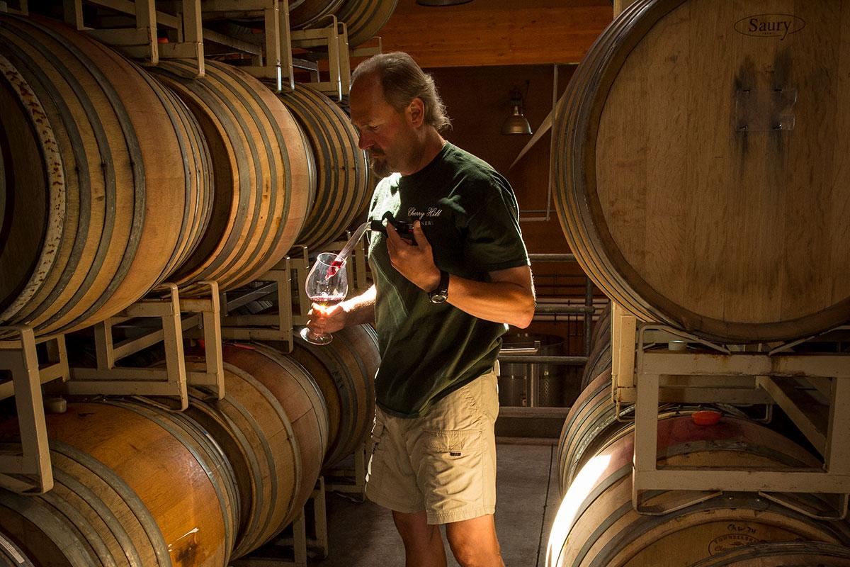 Ken Cook Cherry Hill Winery